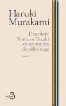 """Couverture du roman """"L'incolore Tsukuru Tazaki et ses années de pèlerinage"""""""