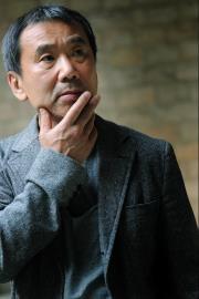 Portrait de l'écrivain Haruki Murakami