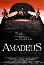 "Affiche du film ""Amadeus"""